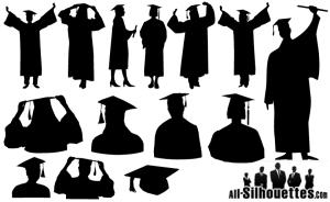 Graduate-Silhouette-Vector