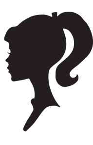 silhouette-girl-head-cliparts