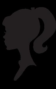 silhouette-girl-head-cliparts