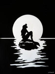 the_little_mermaid_ariel_silhouette_by_jiyeong96-d665eer