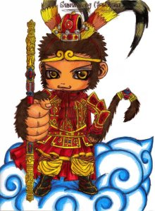 The_Monkey_King_Sun_Wukong_by_Anime_Maika