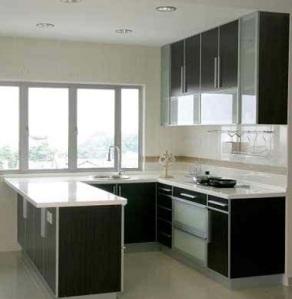 small-U-shaped-kitchen-design-Modern-design